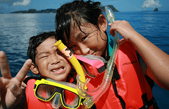 Kids Snorkelling2